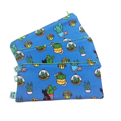 Cactus Cats Pencil Case