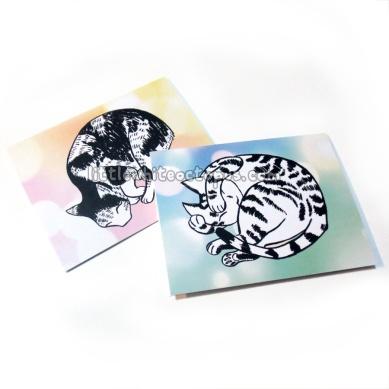Sleepy Kitties Cards